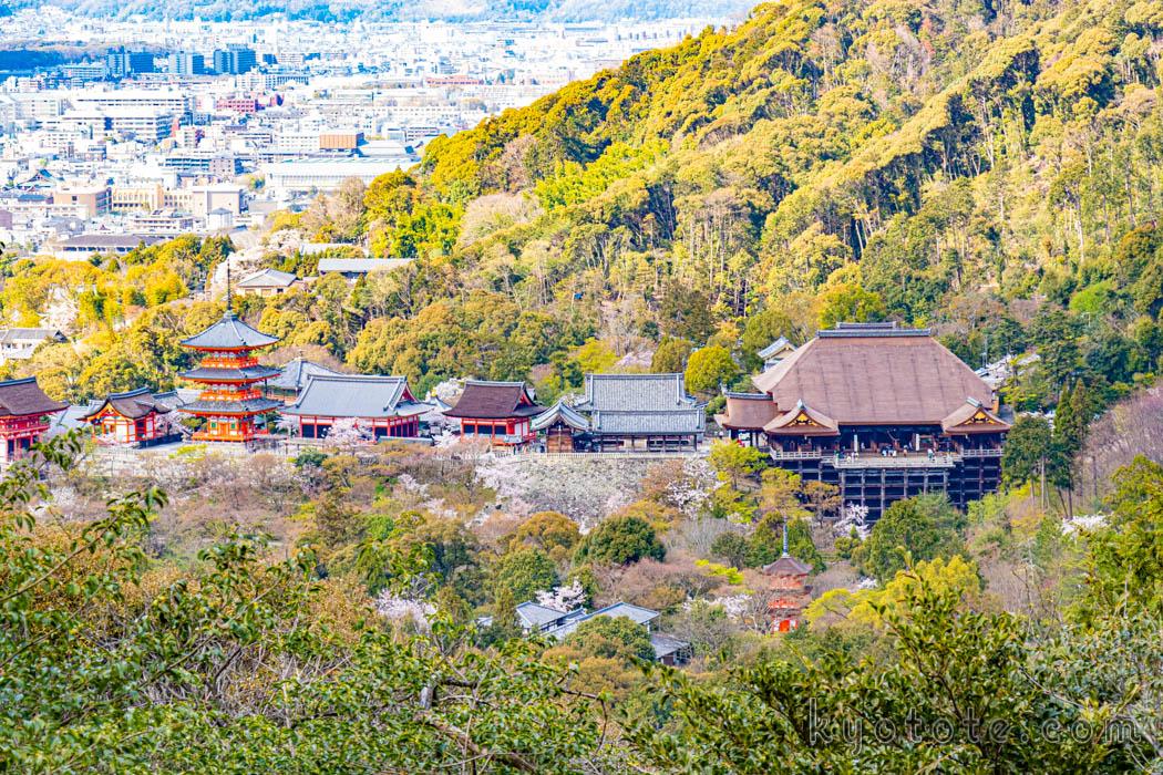 清水寺の撮影スポット