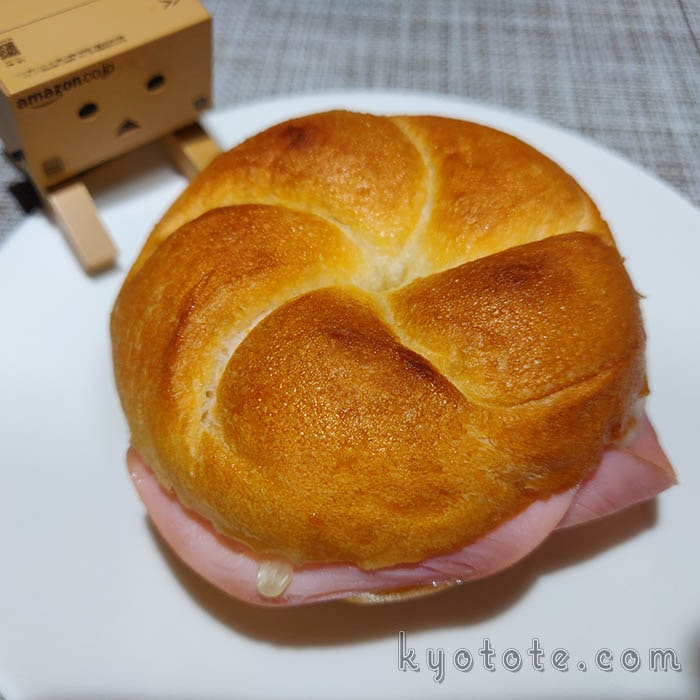 トースターで軽く焼いた志津屋のカルネ