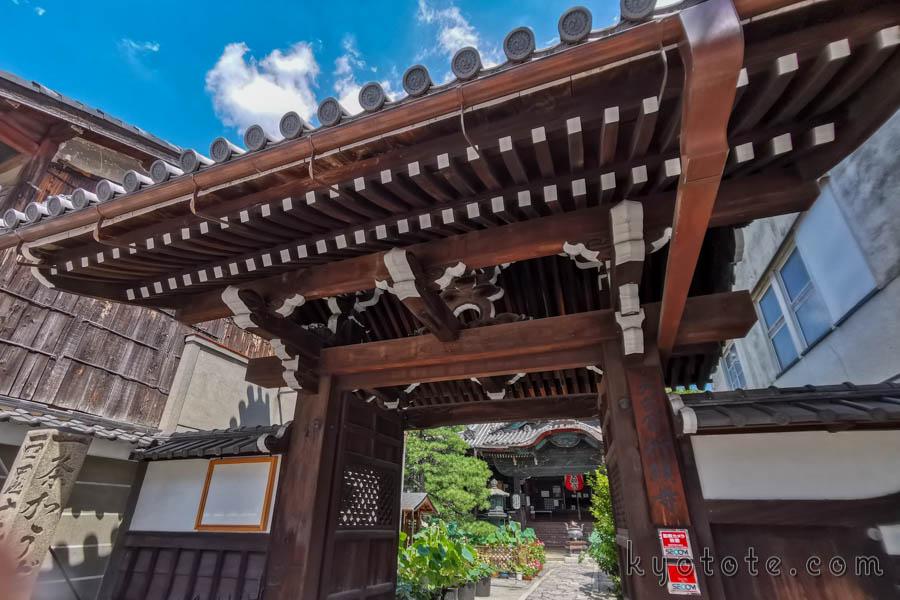 境内に猫がいる京都の行願寺
