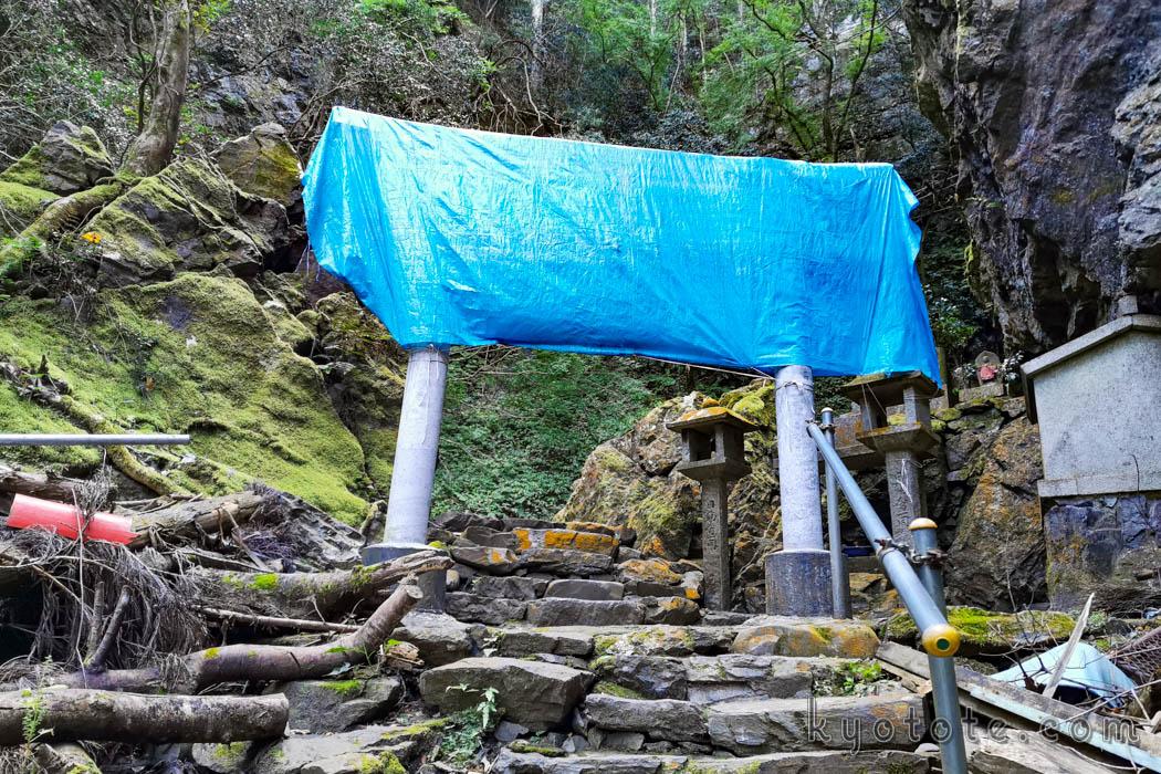 空也の滝への道