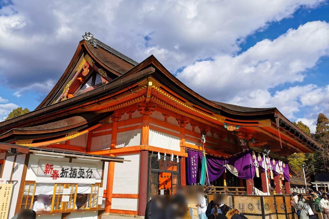ブラタモリ祇園編で紹介された八坂神社本殿