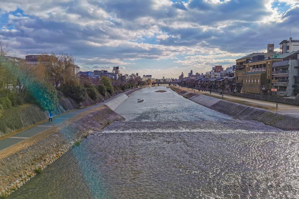 ブラタモリ祇園編で紹介された鴨川