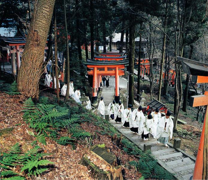 伏見稲荷大社の大山祭
