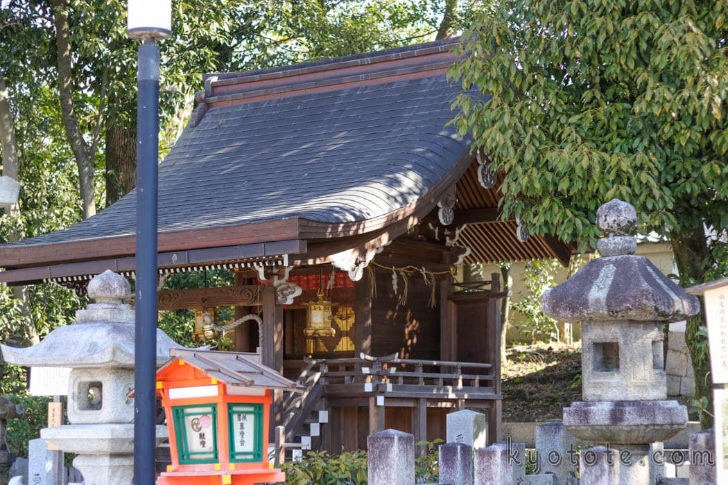 八坂神社の悪王子社