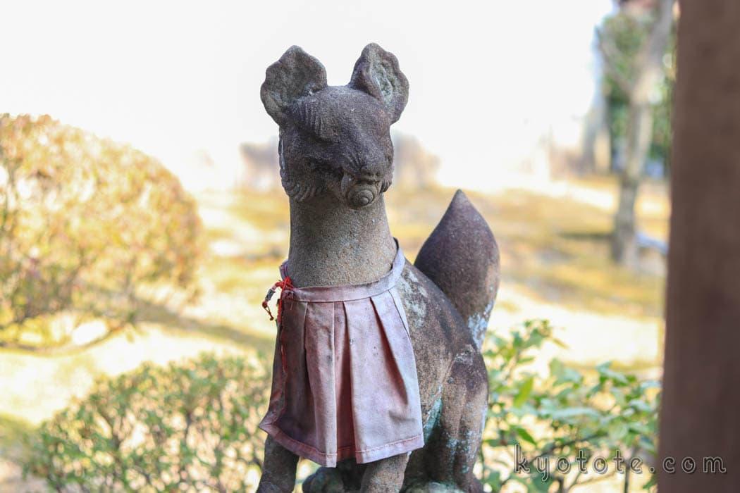 宗旦狐と相国寺の宗旦稲荷社