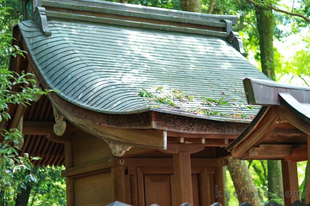 京都府立植物園の半木神社