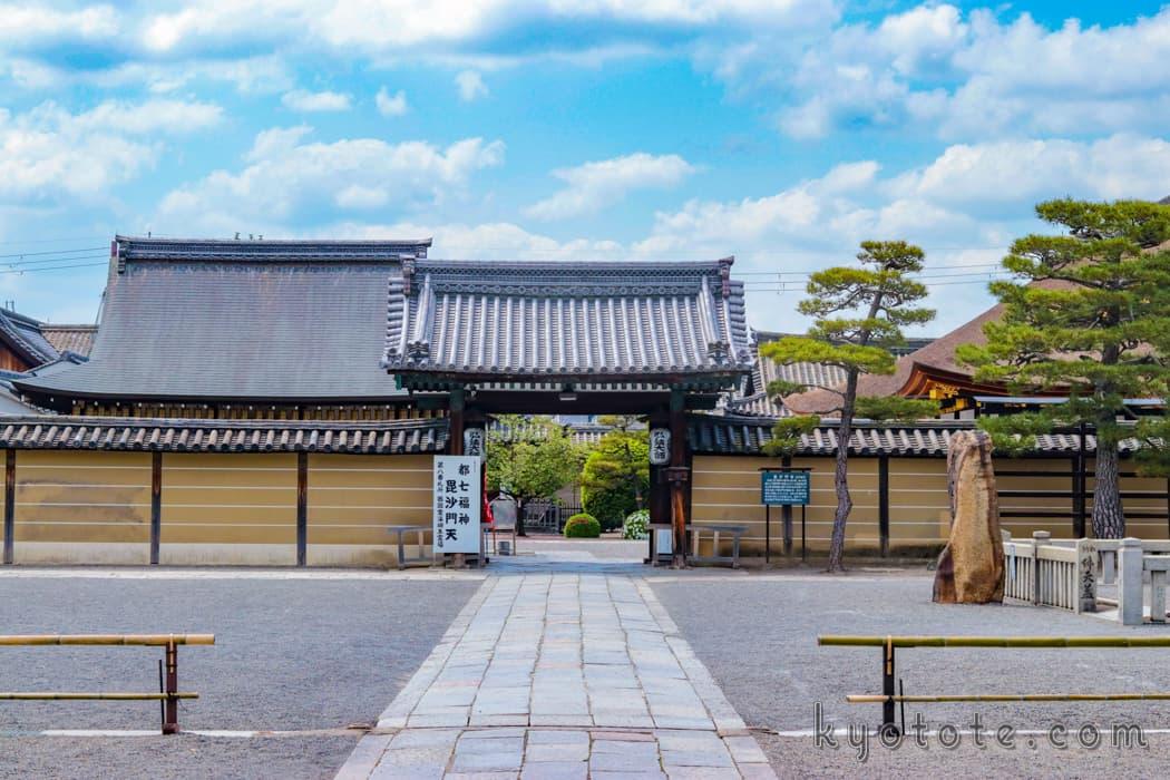 世界遺産の南区の東寺